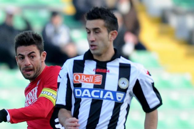 Udinese Lose Pinzi for Six Weeks