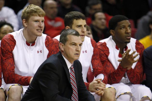 Turgeon Says Terps Are Still Ahead of Schedule