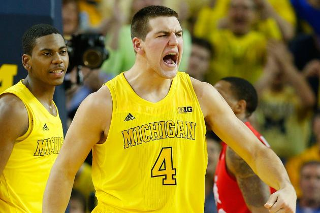 Michigan's Mitch McGary Named Big Ten's Top Freshman
