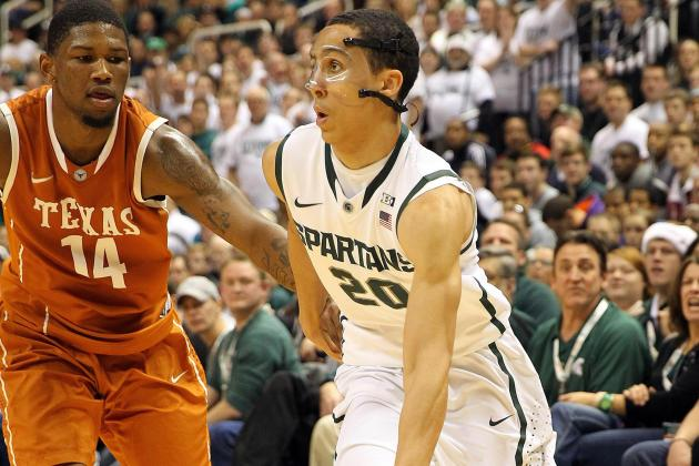 It's Official: Spartans' Travis Trice Is Out for Michigan Game Tonight