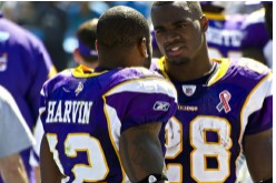 Adrian Peterson Says He'd Never Trade Percy Harvin