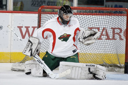 Goalie Darcy Kuemper recalled by Wild, expected to make NHL debut