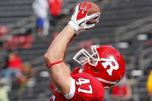 Former New Jersey Football Player Rising Through Mariners' Minor-League Ranks