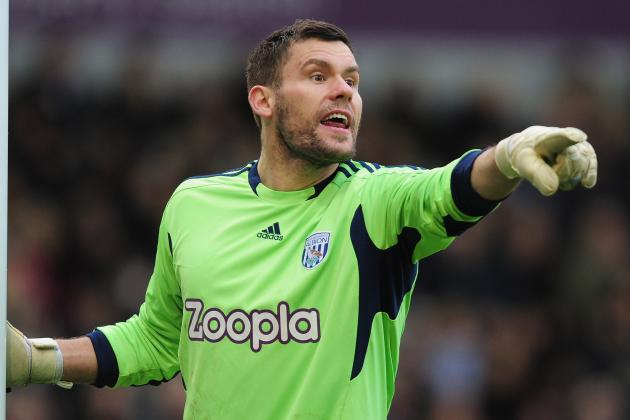 West Brom Keeper Ben Foster Hails Personal Best Performance at Liverpool