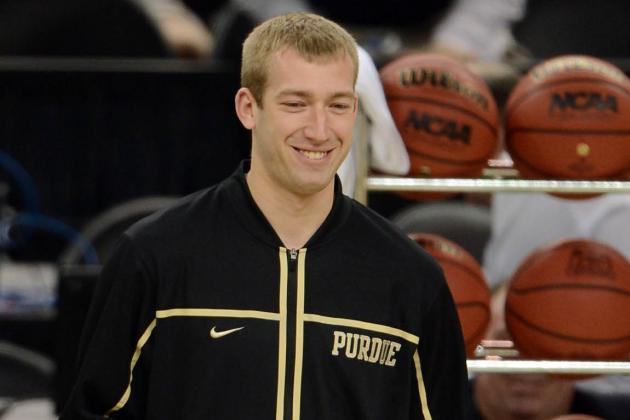 Purdue Basketball Banner Ceremony Nearly Brings Robbie Hummel to Tears
