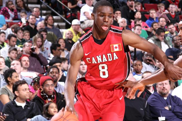 Andrew Wiggins Sets Tentative Visting Dates for Kentucky, Kansas and UNC