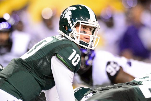 Michigan State's Andrew Maxwell 'Working His Tail Off' to Retain Starting Job