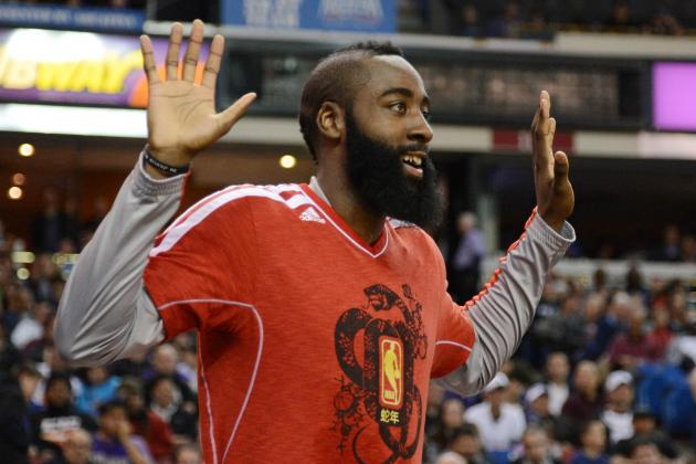 Sore but Relieved, Harden Expects to Play Against Warriors
