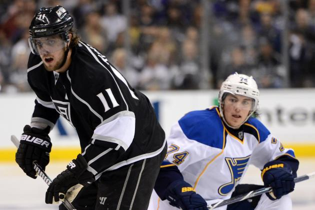 Los Angeles Kings Beat Slumping St. Louis Blues 4-1