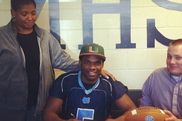 UM Lands Another Football Signee
