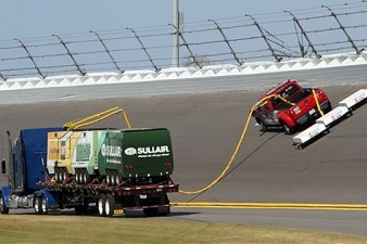 NASCAR Unveils New Track-Drying Technology