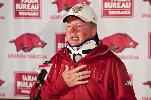 It Wasn't Just Bobby Petrino's Absence That Ruined Arkansas' 2012 Season