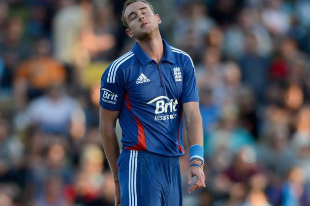 Broad Admits Decision to Bowl 1st Was a Mistake