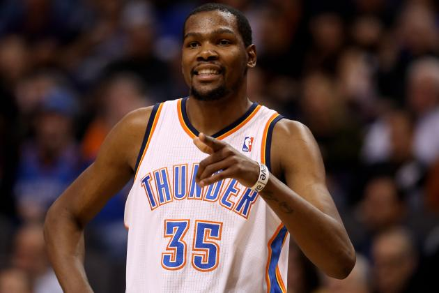 Kevin Durant Avoids Heaves at the Buzzer to Keep His Shooting Percentage High