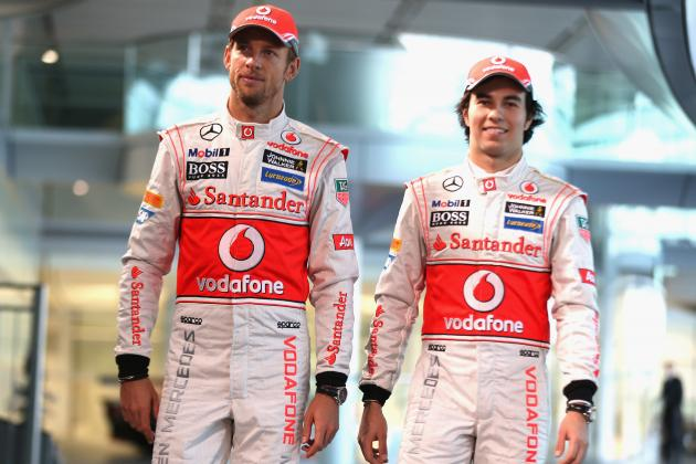 I'm 'very Lucky' to Be Working with Jenson Button, Says Sergio Perez