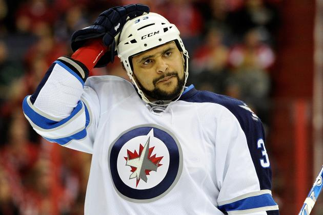 Byfuglien Returning for Jets vs. Flyers