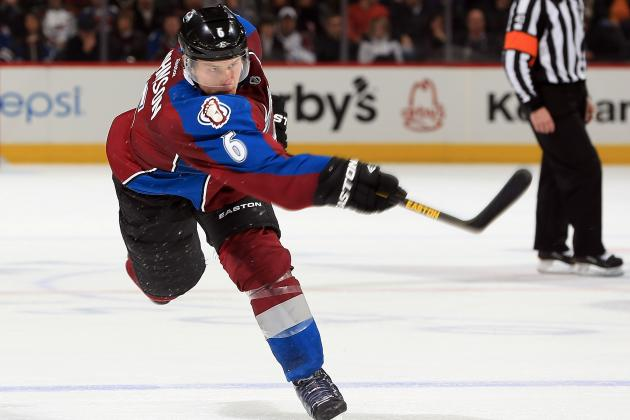 Avs' Erik Johnson, Cody McLeod Add to Swelling List of Team Injuries