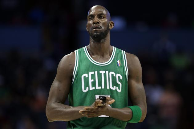 Kevin Garnett's Offense Biggest Key for Injury-Plagued Celtics Moving Forward