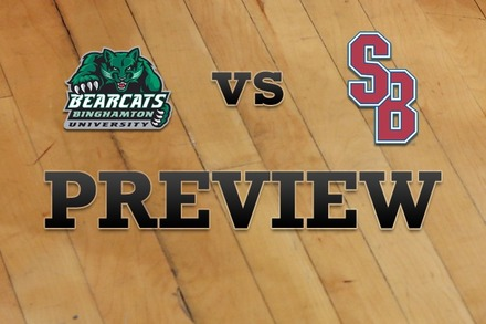 Binghamton vs. Stony Brook: Full Game Preview