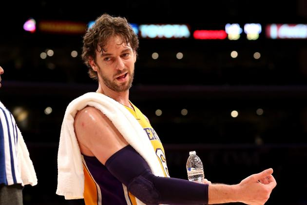 Lakers News: Pau Gasol's Return Is Key to Lakers' Postseason Chances