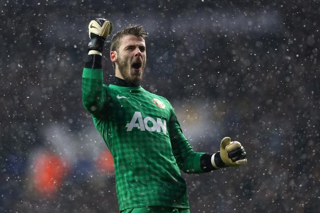 Manchester United vs. Real Madrid: David De Gea Will Star in UCL Clash