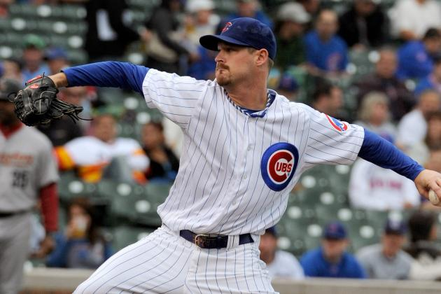 Travis Wood Sharp on Chilly First Day