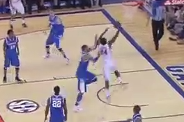 Casey Prather Dunks on Willie Cauley-Stein