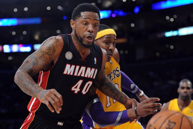 Udonis Haslem out for Game with Leg Contusion