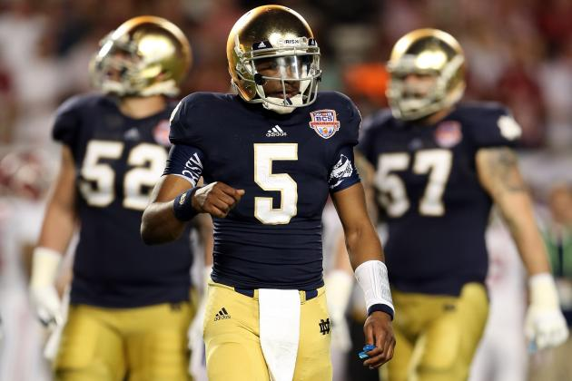 Notre Dame Football: Everett Golson Will Become an Elite QB in 2013