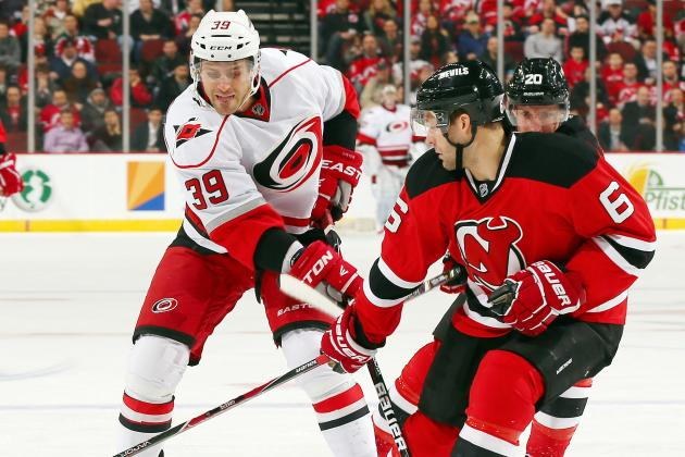 Tlusty Helps Hurricanes End Devils' Win Streak