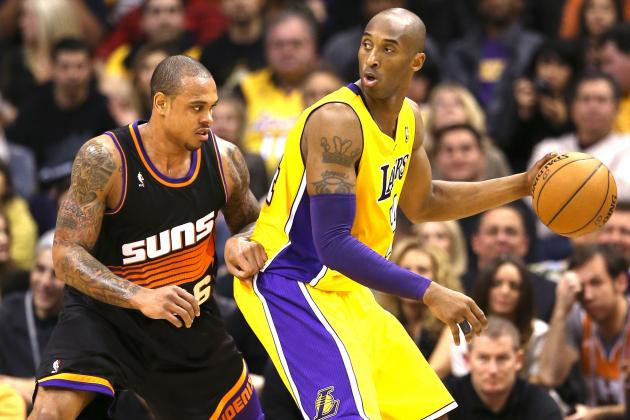 Phoenix Suns vs. L.A Lakers: Live Score, Results and Game Highlights