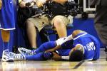 Nerlens Noel Suffers Scary Knee Injury in Kentucky Loss