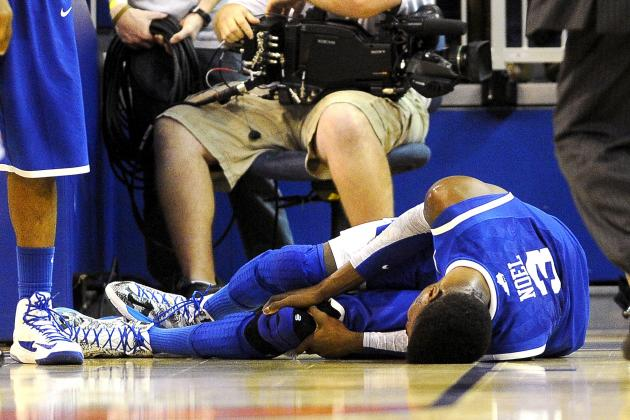 Nerlens Noel Injury: Updates on Kentucky Star's Knee
