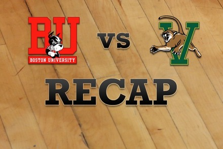Boston University vs. Vermont: Recap, Stats, and Box Score