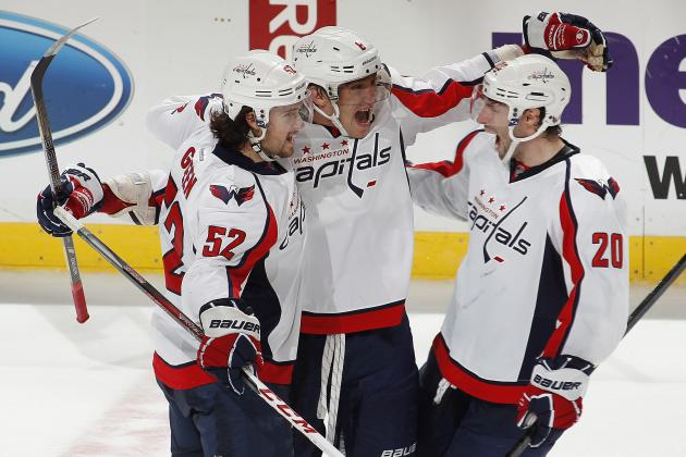 Capitals Rally from 2-Goal Deficit, Win in OT