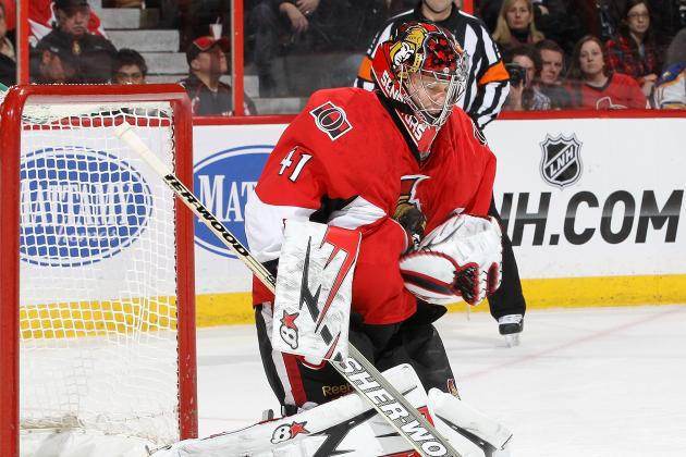 Anderson's 42 Saves Carry Senators by Sabres