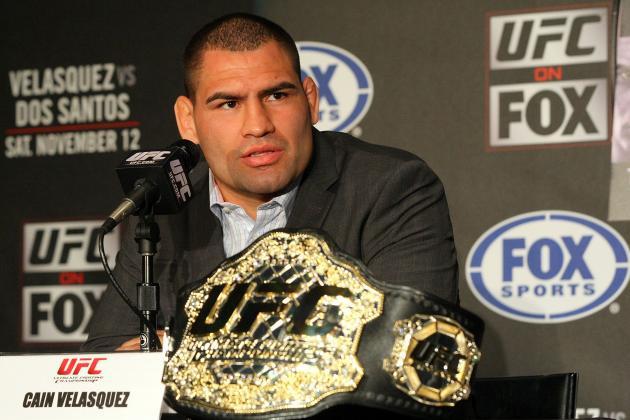 Cain Velasquez to Face Antonio Silva in Rematch at UFC 160