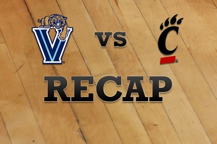 Villanova vs. Cincinnati: Recap, Stats, and Box Score