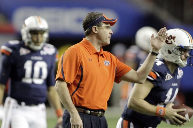 Auburn Coach Gus Malzahn: 'We're Gonna Get Our Edge Back'