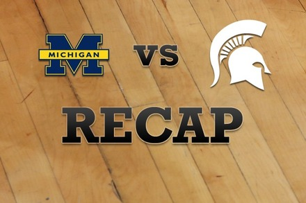 Michigan vs. Michigan State: Recap, Stats, and Box Score