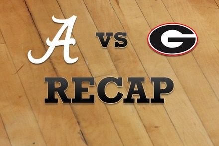 Alabama vs. Georgia: Recap, Stats, and Box Score