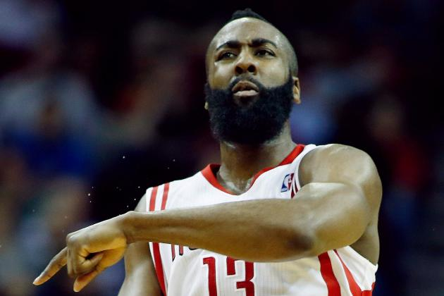Harden Leaves Game Due to Ankle Injury