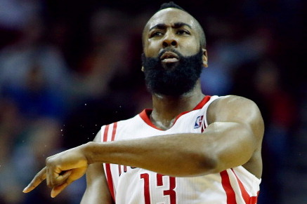 Harden Returns to Game vs. Warriors Despite Ankle Injury