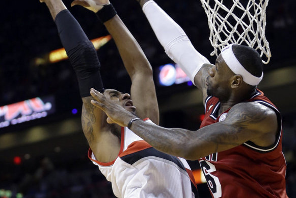 LeBron James, Heat Too Much for Blazers to Overcome in 117-104 Loss