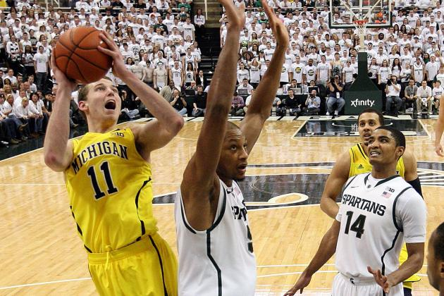No. 4 Michigan Embarrassed in a 75-52 Thumping at No. 8 Michigan State