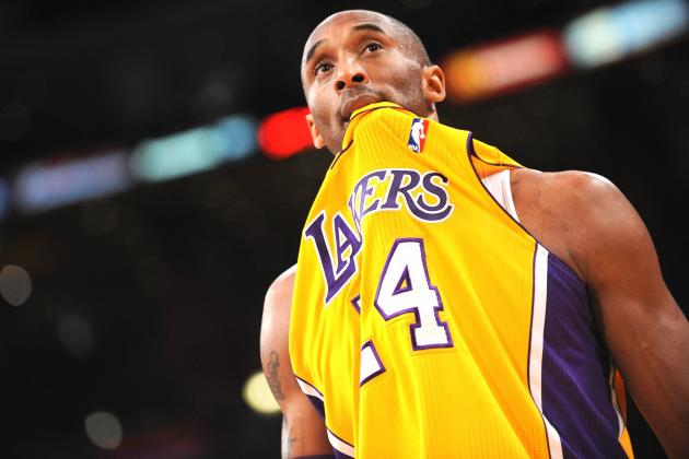 Kobe Bryant Has Historically Bad Night in Lakers' Win over Suns