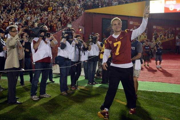 USC Football: Taking a Look at Matt Barkley's NFL Draft Stock
