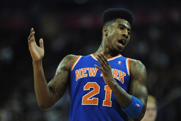 Knicks Trade Rumors: Knicks Must Set the Bar High If Trading Iman Shumpert