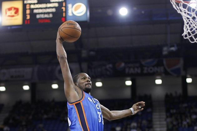 Who Would Win an Oklahoma City Thunder-Only Slam Dunk Contest?