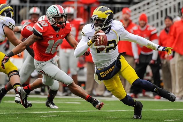 Michigan Football: Why Wolverines Can't Abandon Devin Gardner's Running Ability